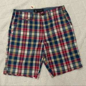 American Eagle Outfitters Classic Plaid Shorts New
